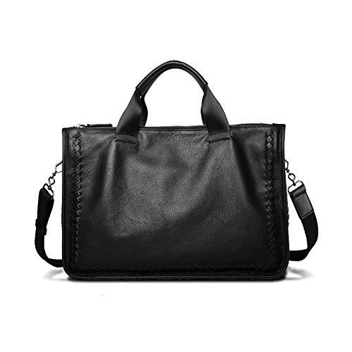 GCCLCF Leder Herren es Tasche Business Tasche Männer Laptop-Tasche Schreie Webtasche Messenger-Tasche - Business Portfolio Briefcase