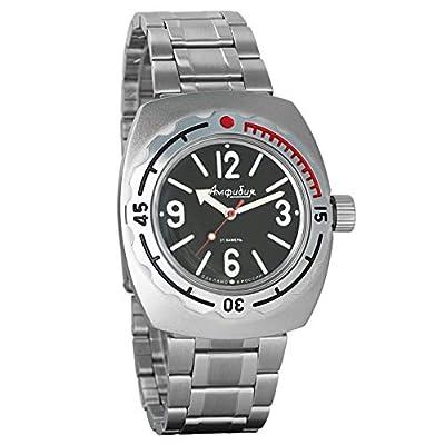 Vostok 2415de anfibios 090913Militar ruso reloj mecánico de Vostok Amphibian
