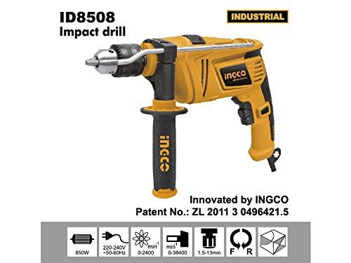 Ingco - Taladro Percutor Id8505 850W R+L