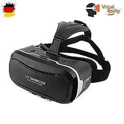 Pasonomi® Google Cardboard 3D VR Virtual Reality Headset