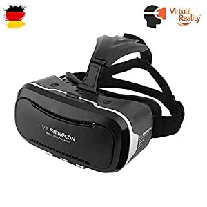 Pasonomi VR - Virtual Reality Headset 3D VR Glasses for 4~6 inch Smartphones iPhone 6 6 Plus, Samsung Galaxy S7 S6 edge, Note 5 4 3