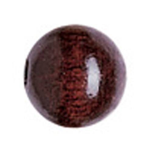 KnorrPrandell 6028594 Holzperlen sepia, 8 mm Durchmesser