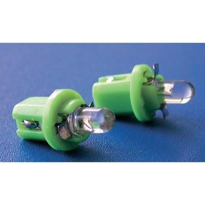 Eufab Ampoule à LED pour éclairage des instruments B8.5d vert