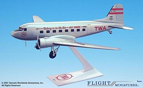 flight-miniatures-twa-trans-world-airlines-victory-douglas-dc-3-1-100-scale