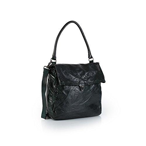 Campomaggi C006150ND-X0001 bottiglia - Handtasche, Campomaggi_Farbe:bottiglia (Design Handtasche Akzent Italienische)