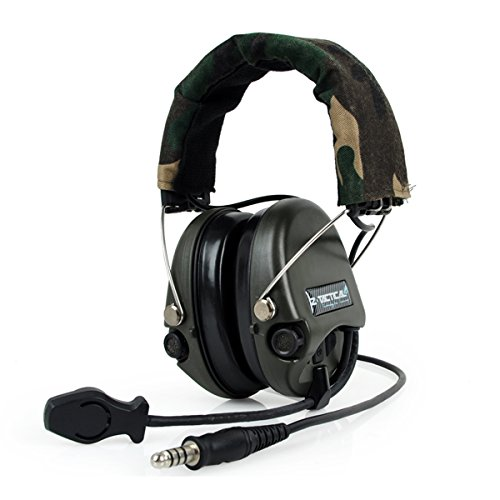 Outdoor-Radio Z-Tactical Z111 Sordin Stil Lärm Stornierung Ptt Wargame Jagd Headset WorldShopping4U (FG)