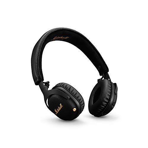 Marshall Mid A.N.C Casque Bluetooth à Réduction de Bruit - Noir