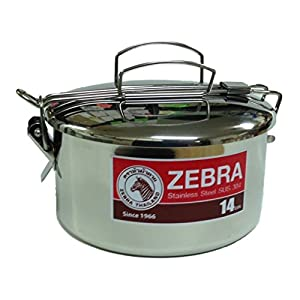 41%2Bac8m9p5L. SS300  - Zebra Head 14cm Camping Pot Stainless Steel