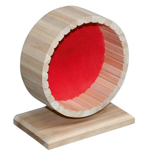 Kerbl 82798 Hamsterlaufrad mit Ständer, 6 x 11 x 15 cm. -