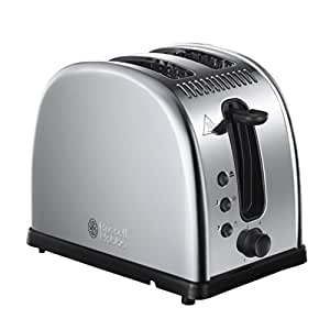 Russell Hobbs 21290-56 Toaster Grill Pain Sixty Collection Legacy Acier - Argent