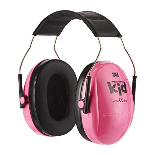 3M H510AKPC Peltor Kid Cuffia anti-rumore colore Rosa fluorescente