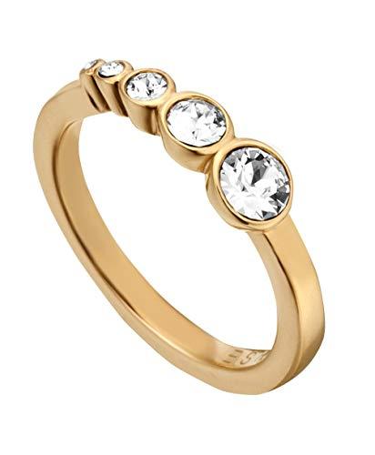 Esprit Damen-Ringe Edelstahl mit Ringgröße 57 (18.1) ESRG00212218
