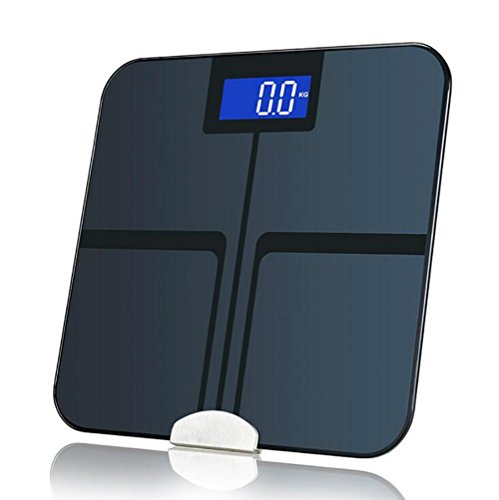 JMQ Waage Bluetooth Fettwaage Bluetooth Body Fat Scales Intelligent Health Scales Fat Scales Precision App Smart Weight Electronic Said