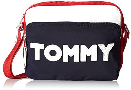 Tommy Hilfiger - Tommy Nylon Crossover, Borse a tracolla Donna Nero (Corporate Cb)