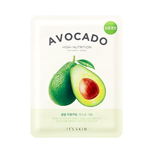 It's Skin The Fresh Mask Sheet Avocado Gesichtsmaske Korean Kosmetik 1 Stück