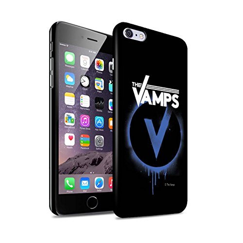 Offiziell The Vamps Hülle / Glanz Snap-On Case für Apple iPhone 6+/Plus 5.5 / Pack 6pcs Muster / The Vamps Graffiti Band Logo Kollektion Blau V