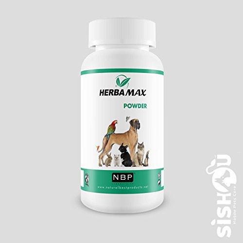 Natural Best Products Herbamax Anti-Parasiten-Puder Hund, Katze, 100 g