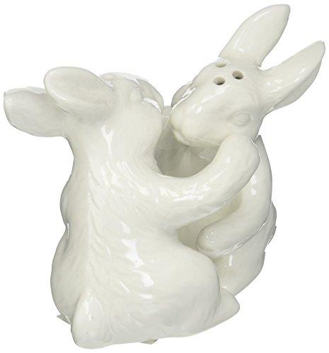 Abbott Kollektion Umarmung Kaninchen Salz und Pfeffer Whiteware Serveware