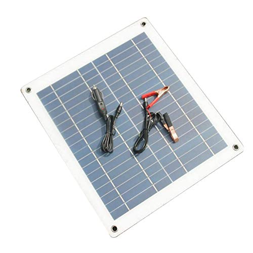 Features:High conversion efficiency, long service life, to ensure full power.Aging resistance, corrosion resistance, weak light effect.Flexible Solar Panel, a maximum 30 degree arc bendable.Short circuit and surge protection technology keep you a...