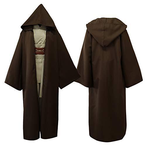 JFQ-Party Mask Halloween Cosplay Kostüm, Star Wars Jedi Ritter Cosplay Kostüm, - Star Wars Jedi Knight Für Erwachsenen Kostüm
