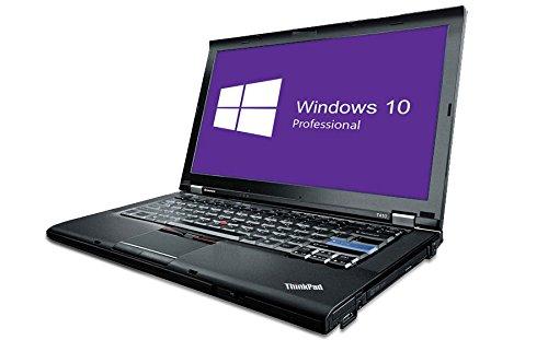 Lenovo ThinkPad T410 Notebook | 14,1 Zoll | Intel Core i5-520M @ 2,4 GHz | 4GB DDR3 RAM | 160GB HDD | DVD-Brenner | Windows 10 Pro vorinstalliert (Zertifiziert und Generalüberholt) - 2