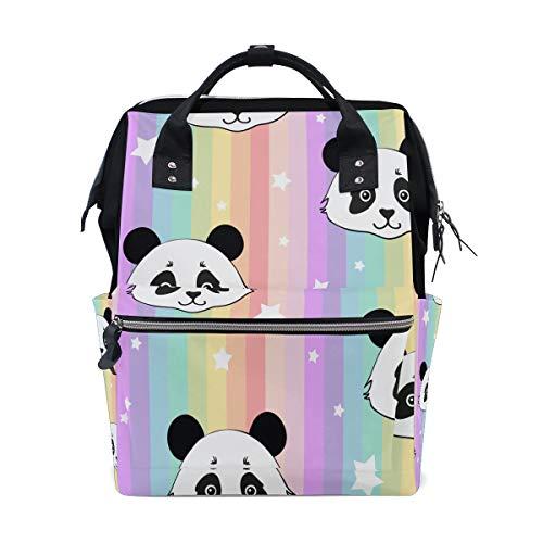 Nette chinesische panda souvenir geschenk große kapazität windel taschen mummy rucksack multi funktionen windel pflege tasche tote handtasche für kinder baby care reise tägliche frauen