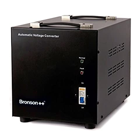 Bronson++ AVT 4000 - 110 / 120 Volts Transformateur USA Convertisseur de Tension - 4000 Watts - Augmentation / Diminution Noyau Torique - Bronson 110V 120V 4000W