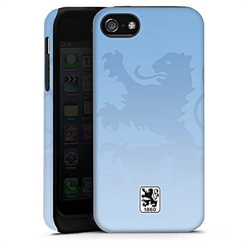 Apple iPhone 6s Silikon Hülle Case Schutzhülle TSV 1860 München Fanartikel Merchandise Fußball Tough Case matt