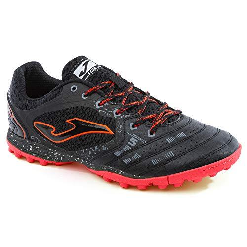 Joma - Zapatillas de fútbol para Adulto, línea Turf Negro Size: 41 EU