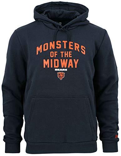New Era - NFL Chicago Bears Monsters of The Midway Hoodie - Blau Größe XL, Farbe Blau