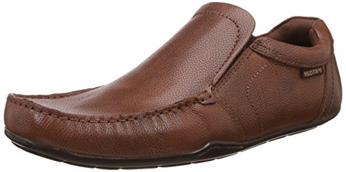 Red Tape Men's Tan Leather Formal Shoes - 9 UK/India (43 EU)