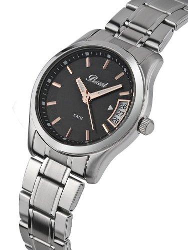 Bossart Watch Co. Basic BW-1002-SS Armbanduhr für Sie Zeitloses Design -