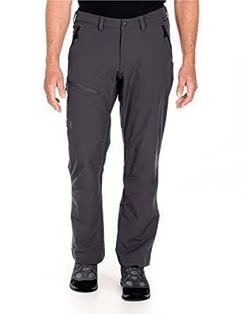 Jack Wolfskin Herren Softshell Hose Activate Pants, Dark Steel (2), 26, 1501491-6033026