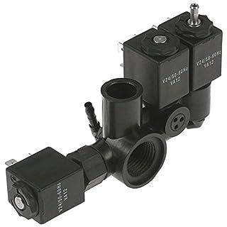 Allpax solenoid valve unit for vacuum sealer B42-16, B42-21, B42XL-16, B42XL-21 with 3 coils 24V B42(XL)+SA 1/2 inch coil type VA12