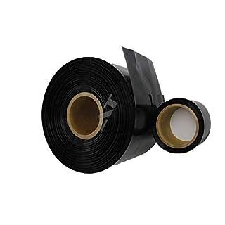 AccuCell Neu Schrumpfschlauch Schwarz 110 mm x 0,13 mm (1 Meter)