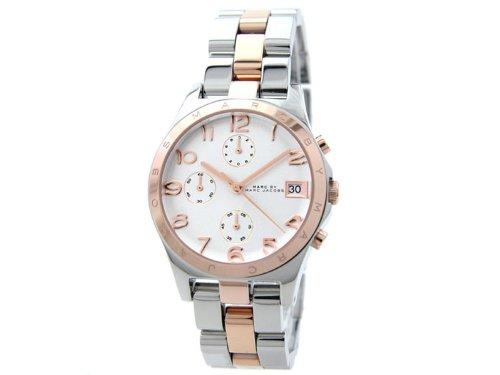 Marc Jacobs Unisex Watch Chronograph Quartz Stainless Steel MBM3070