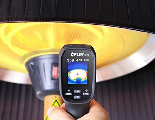 Primrose 2.100 Watt Firefly™ Infrarot-Heizstrahler (Halogen) Terrassenheizung, freistehend, 3 Leistungsstufen, Buchenoptik - 5
