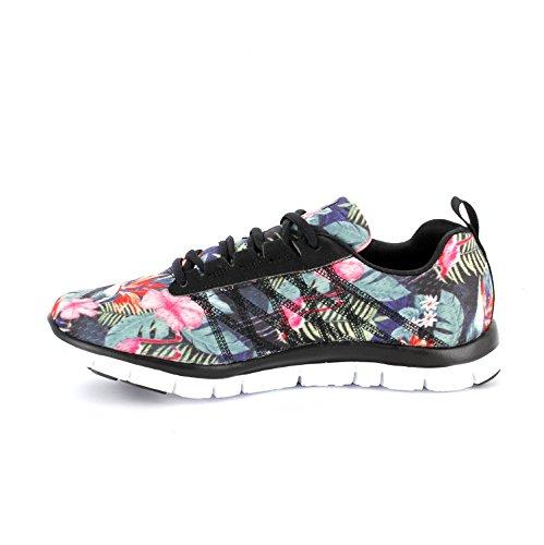 Skechers - Flex Appeal - Miracle Worker, Sneakers da donna Nero multicolore