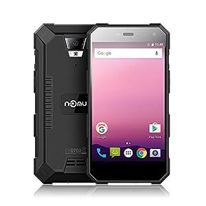 NOMU S10 Pro IP68 Waterproof Outdoor Ragged Tough Smartphone 4G Dustproof Shock-resistant MTK6737T 64-bit Quad Core 5.0 Inches HD Screen Android 7.0 3GB RAM+32GB ROM 5+8MP Camera 5000mAh OTG FM Radio