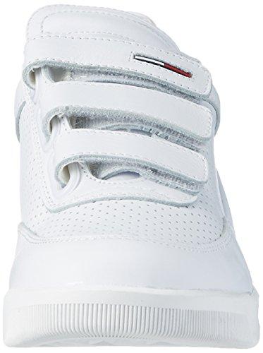Tommy Hilfiger Herren T2385yke 4a Low-Top Weiß (White 100)