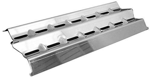 Preisvergleich Produktbild Music City Metals 94001 Edelstahl-Hitzeschild für Gasgrills der Marken Broil King und Sterling - Silberfarben