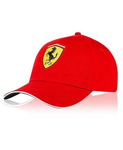 Scuderia Ferrari Gorra Niño Clásica Roja