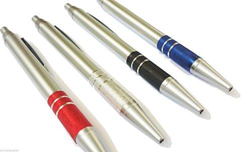 Penne personalizzate con il tuo nome o logo - modello Superior - impugnatura in alluminio - confezione 100 pezzi kit assortito