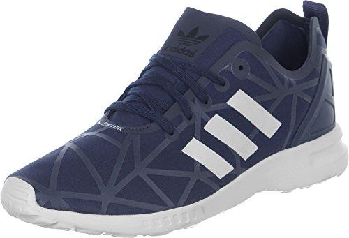 adidas ZX Flux Smooth, Baskets Basses Femme Bleu