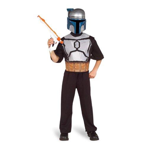 Kostüm - Star Wars - Jango Fett Kostümset für (Für Boba Kostüme Fett Kinder)