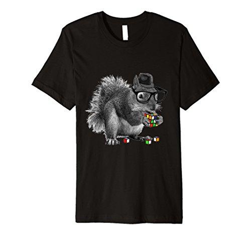Eichhörnchen-jugend-t-shirt (Rubik Cube Eichhörnchen T Shirt)