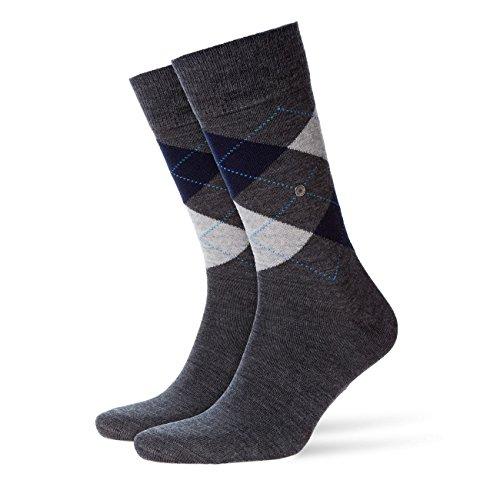 Burlington Herren Socken Edinburgh 2er Pack, Größe:40-46;Farbe:Rock Limelight (3194)