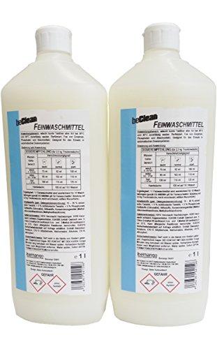 beClean Feinwaschmittel 2x1 Liter Flasche 24 Waschladungen
