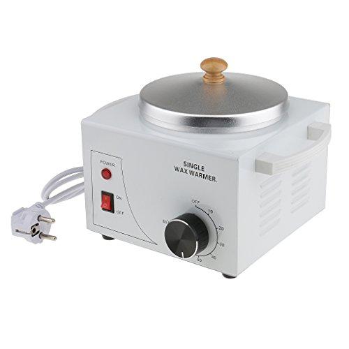 MagiDeal 1 Pieza Pro Máquina de Calentador de Cera Más Caliente Depilatorio Salón Parafina Caliente - EU