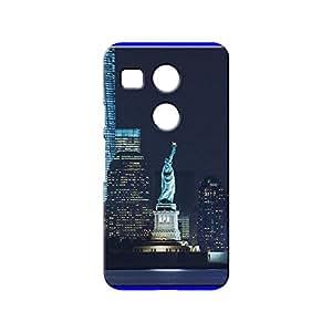 BLUEDIO Designer 3D Printed Back case cover for LG Nexus 5X - G7340